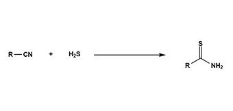 1. 硫化水素付加反応