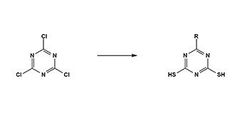 4. トリアジンジチオール合成