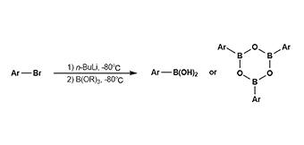 8. ボロン酸およびボロキシン合成