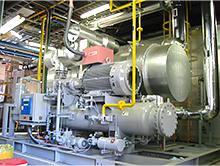 自然冷媒冷却装置の採用